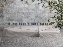 Fundas sofás de jardín