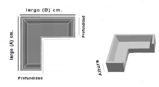 Funda para sof de exterior modular en l a medida for Sofa exterior a medida